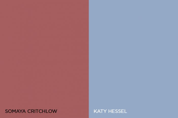 Somaya Critchlow and Katy Hessel