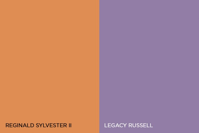 Reginald Sylvester and Legacy Russell