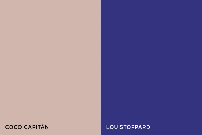 Coco Capitán and Lou Stoppard