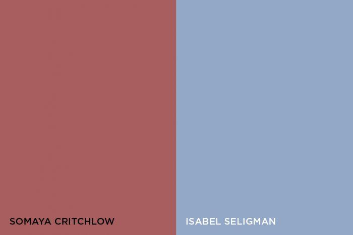 Somaya Critchlow and Isabel Seligman