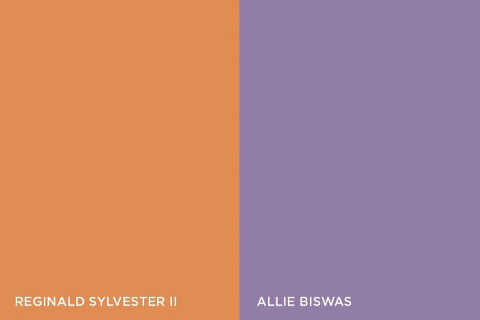 Reginald Sylvester II and Allie Biswas in conversation