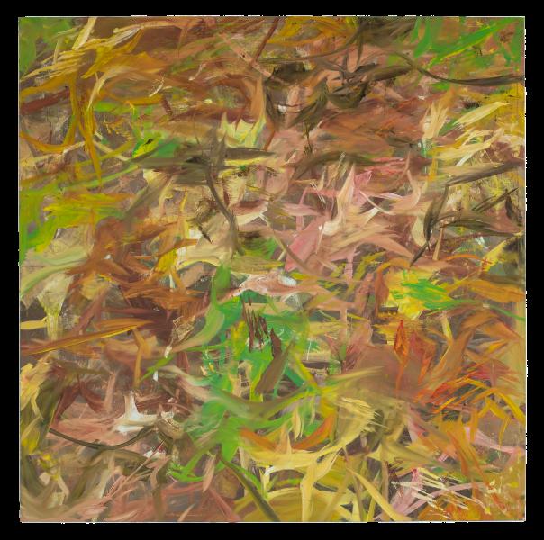 Reginald Sylvester II, 005 (Light Painting), 2020, oil on canvas, 72 x 72 in (182.88 x 182.88 cm)© Reginald Sylvester II, image courtesy of Maximillian William