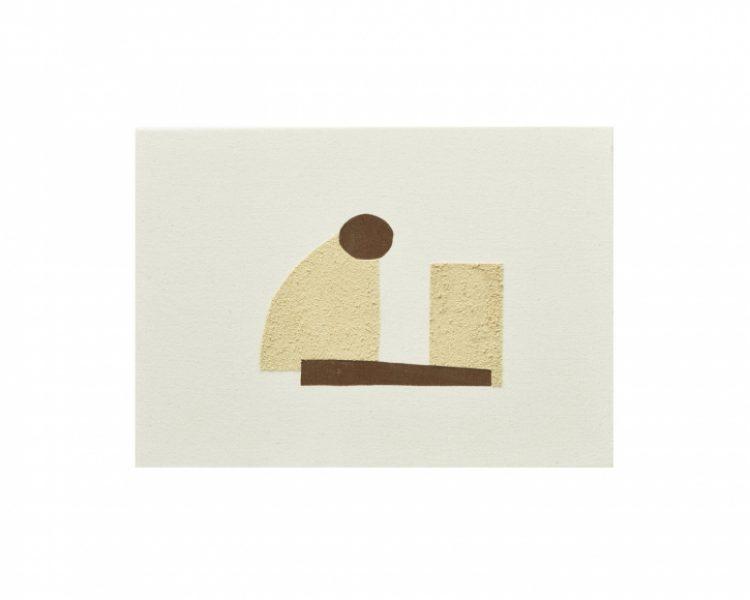 Magda Skupinska, Grace, 2017, cinnamon print and orange peel on canvas, 17.2 x 21.1in. (43.6 x 53.6cm.)© Magda Skupinska, image courtesy of Maximillian William