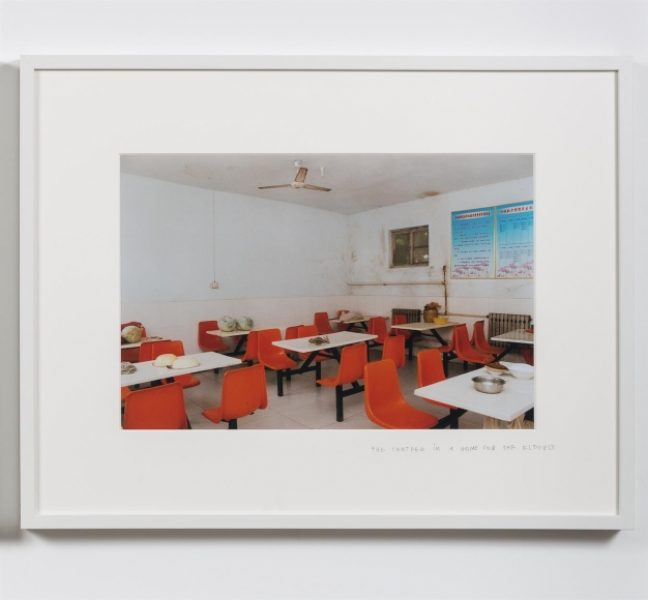 Coco Capitán, Lunchtime Canteen, c. 2012, C-type print, 11.8 x 17.7in. (30 x 45cm.)© Coco Capitán, image courtesy of Maximillian William