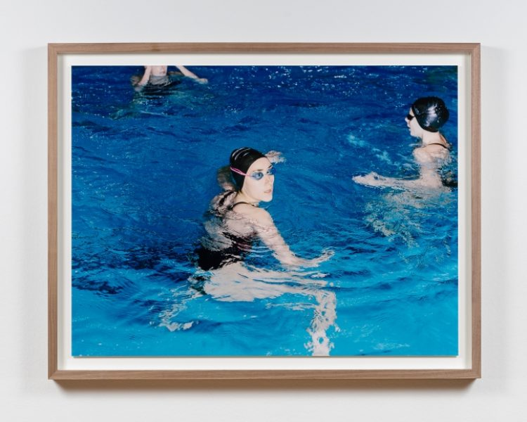 Coco Capitán, Swimmer Looking Back, 2018, C-type Print, 24.8 x 33in. (63 x 84cm.)© Coco Capitán, image courtesy of Maximillian William