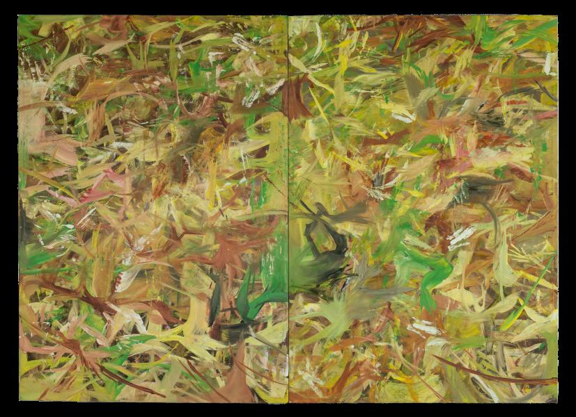 Reginald Sylvester II, 009 (Light Painting), 2020, oil on canvas, 72 x 100 in (182.88 x 254 cm)© Reginald Sylvester II, image courtesy of Maximillian William
