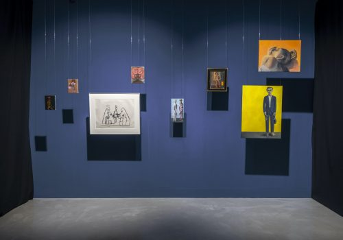 Installation view of Role Play  Photography: Damian Griffiths