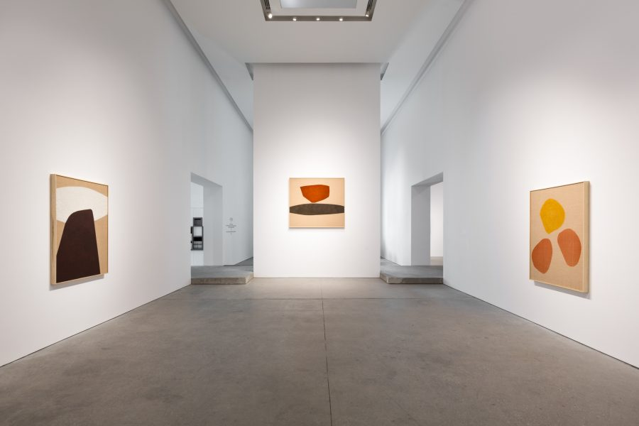 Installation View: Magda Skupinska, Surface Issues, Leila Heller Gallery, Dubai© the respective artists, image courtesy of Leila Heller Gallery, Dubai