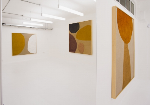 Installation View: Magda Skupinska, Elements Of Silence, London© the respective artists, image courtesy of Maximillian William
