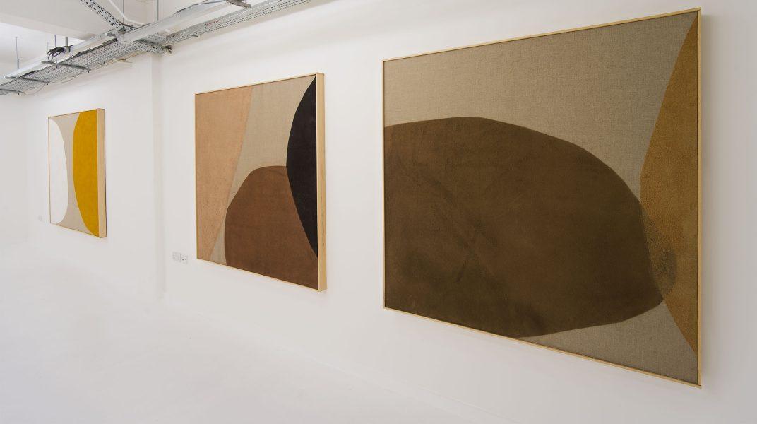 Installation View, Magda Skupinska, Elements of Silence, London© Magda Skupinska, image courtesy of Maximillian William
