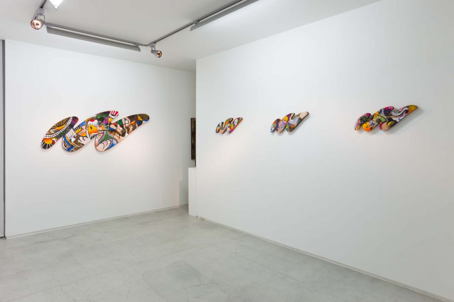 Installation View, Reginald Sylvester II, A Generation So Bright, Tokyo, Japan© Reginald Sylvester II, image courtesy of Maximillian William