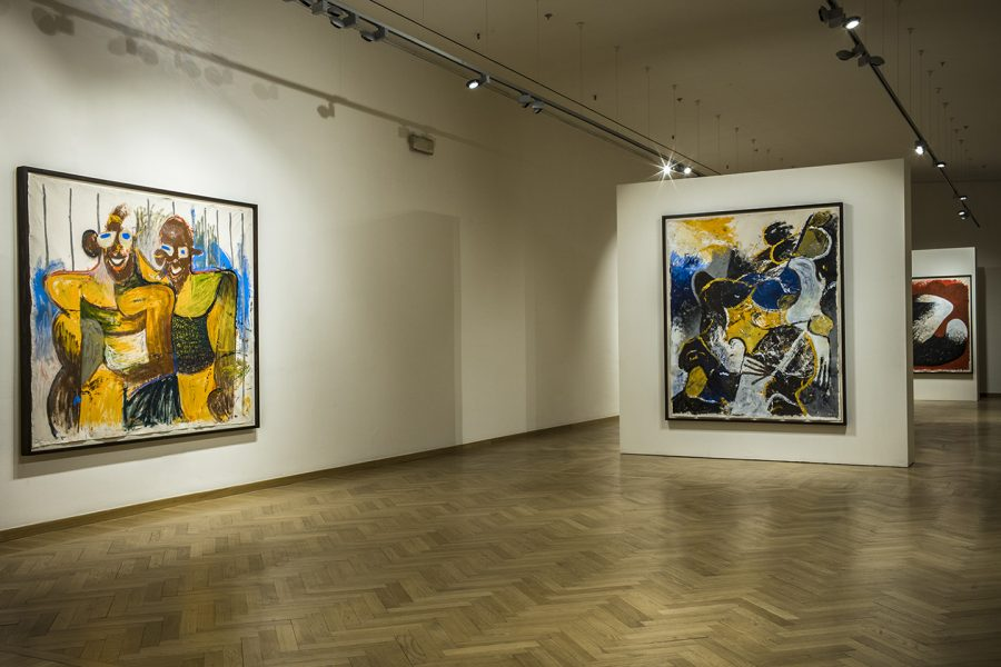 Installation View: Reginald Sylvester II, The Rise and Fall of a People, Fondazione Stelline, Milan© Reginald Sylvester II, image courtesy of Fondazione Stelline, Milan
