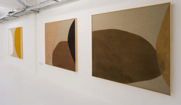 Instillation view, Magda Skupinska, Elements Of Silence, London, 2015