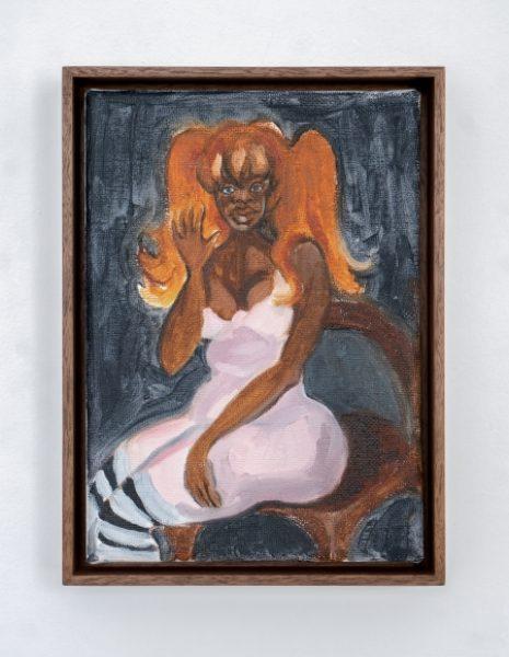 Somaya Critchlow, Generosity, oil on canvas, 9 x 6.7in.(22.8 x 17cm.)© Somaya Critchlow, image courtesy of Maximillian William