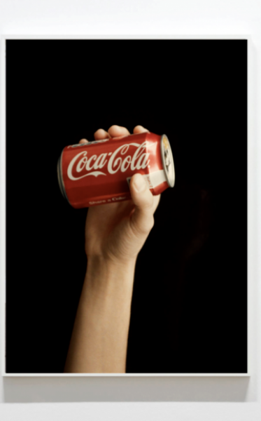 Coco Capitán, Cola in Hand, 2013, C-type Print, 57 x 43.3in. (145 x 110cm.)© Coco Capitán, image courtesy of Maximillian William