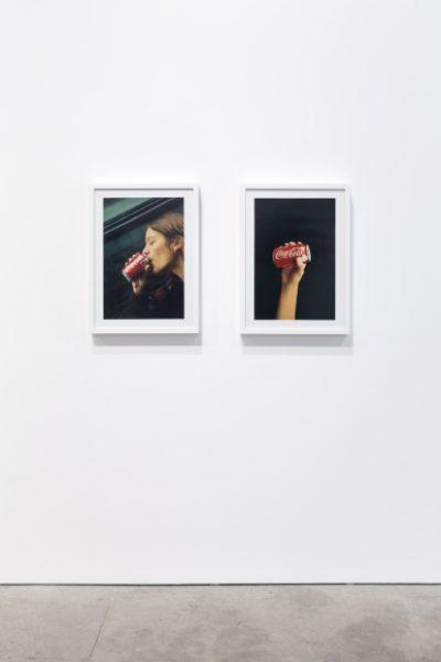 Installation view: Coco Capitan, Surface Issues, Leila Heller Gallery Dubai, 2017© Coco Capitán, image courtesy of Leila Heller Gallery, Dubai